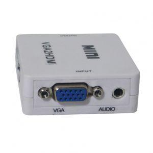 365TECH-1400127 CAJA CONVERSORA VGA a HDMI (VGA2HDMI)